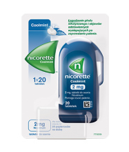 Tabletki do ssania NICORETTE® Coolmint