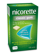 NICORETTE® Gumy do żucia