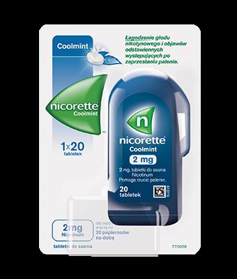 Tabletki do ssania NICORETTE® Coolmint