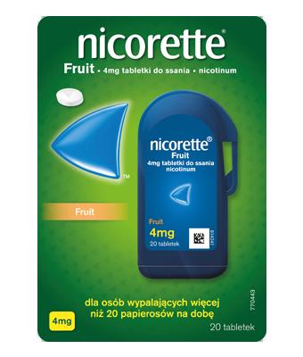 Tabletki do ssania NICORETTE® Fruit