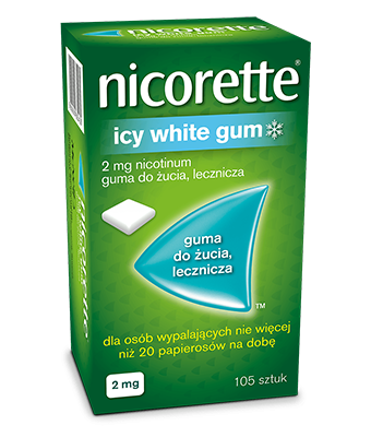 NICORETTE® Icy White Gum